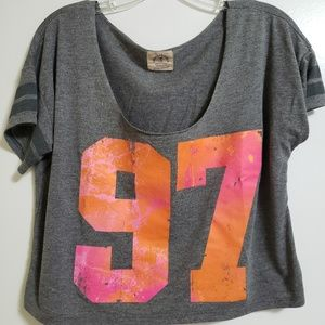 """American Eagle Outfitters """"Vintage T"""" Cropped Tee"""